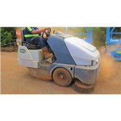2010 Exterra 6340 Ride-On Outdoor Sweeper, 1416 Hours (Starts, Runs, See Video)