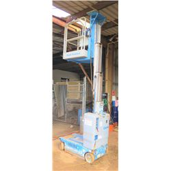 2012 Genie GR12 Manlift, 12-Ft Capacity, 149 Hours