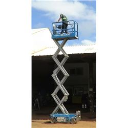 2013 Genie GS1930 Scissorlift, 19-Ft Capacity, 153 Hours (Lifts, Drives - See Video)
