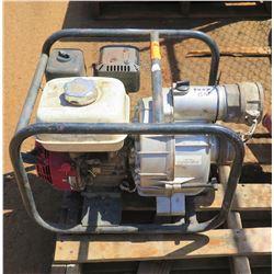 Portable Water Pump w/ Honda GX200 Motor (Needs Repair)