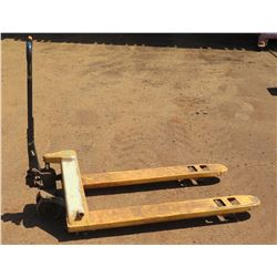 Pallet Jack (1 Wheel Needs Repair)