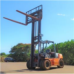 2008 Doosan D70S-5 Forklift, 15K Capacity (Runs, Drives, Lifts, No Known Problems)