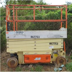2012 JLG 2630ES Scissorlift, 187 Hours (Needs Repair)