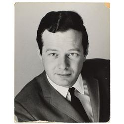 Brian Epstein's Personally-Owned Oversized Photograph