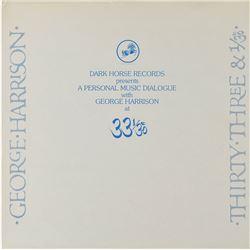 George Harrison Signed Promotional Album