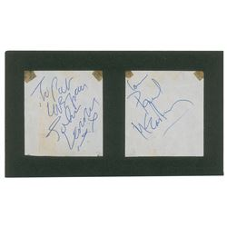 John Lennon and Paul McCartney Signatures