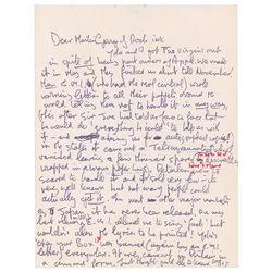 John Lennon Autograph Letter Signed