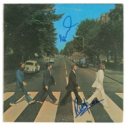 Paul McCartney and Ringo Starr Signed Album