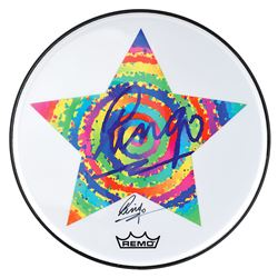 Ringo Starr Signed Drumhead