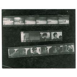 Beatles 1965 Shea Stadium Contact Sheet