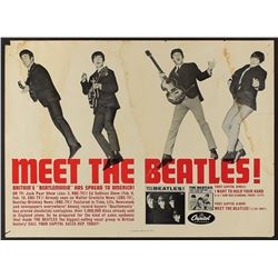 Beatles Promotional Poster