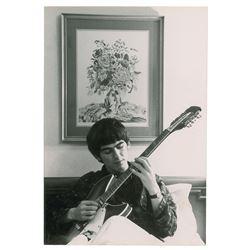 George Harrison Photograph by Robert Freeman