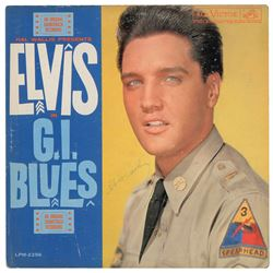 Elvis Presley Signed Album
