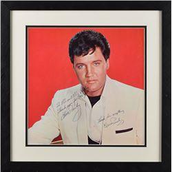 Elvis Presley Signed Photograph