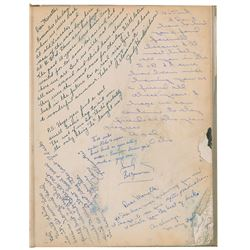 Bob Dylan Signed Yearbook