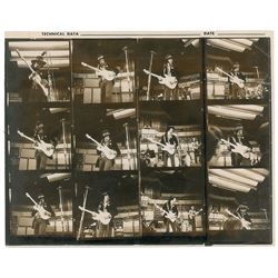 Jimi Hendrix Experience 1969 Albert Hall Contact Sheets