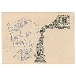 Jimi Hendrix and Noel Redding Signatures