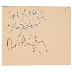 Jimi Hendrix and The Who Signatures