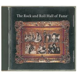 1992 Jimi Hendrix and Yardbirds Rock and Roll Hall of Fame Induction Dinner Program and CD
