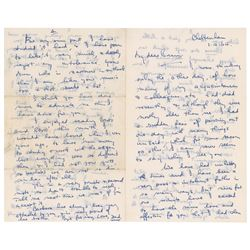 Brian Jones Letter from Father