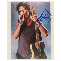 Keith Richards Signed Photograph