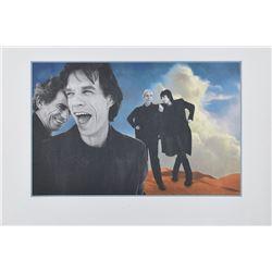 Rolling Stones Bridges to Babylon Print