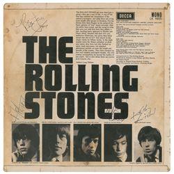 Rolling Stones Signed Album