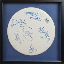 Rolling Stones Signed Drumhead