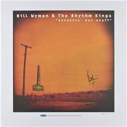 Bill Wyman Signed Print