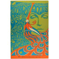 The Doors and the Yardbirds 1967 Fillmore Poster (BG-75)
