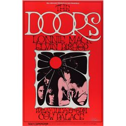 The Doors 1969 Cow Palace Poster by Randy Tuten (BG-186)