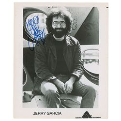 Jerry Garcia Signed Photograph
