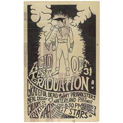 Grateful Dead Test Run Poster for Halloween 'Acid Test' Concert