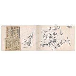 1960s British Rock Autograph Book