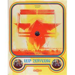 Led Zeppelin 1970 Salt Palace Poster