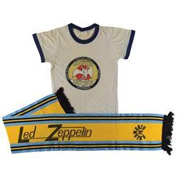 Led Zeppelin Grouping of 1979 Knebworth Concert Memorabilia