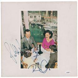 Led Zeppelin Signed Album
