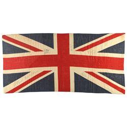 Led Zeppelin Signed 'Union Jack' Flag