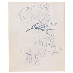 Led Zeppelin Signed Greeting Card