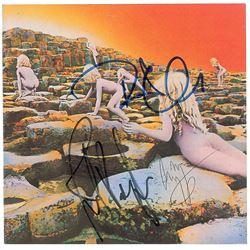 Led Zeppelin Signed CD Booklet