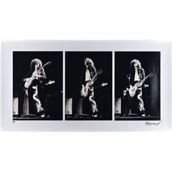 Jimmy Page Oversized Photograph by Robert Knight