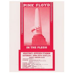 Pink Floyd Houston Handbill