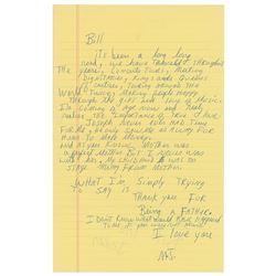 Michael Jackson Autograph Letter Signed
