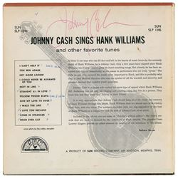Johnny Cash Group of (4) Signed Sun Albums