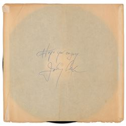 Johnny Cash Signed Album Sleeve