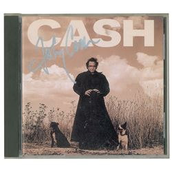 Johnny Cash Signed American Recordings CD