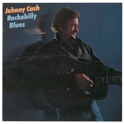 Johnny Cash Signed Rockabilly Blues Album