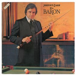 Johnny Cash Signed The Baron Album