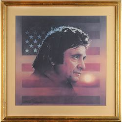 Johnny Cash's Personally-Owned Print