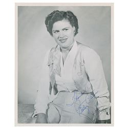 Patsy Cline Signed Photograph
